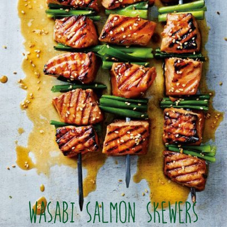 wasabi skewers
