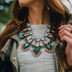 The Statement Necklace, The J.Crew Sweater & The Plaid Shirt.